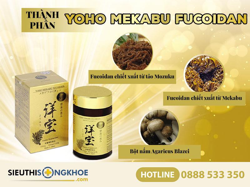 thanh phan vien ho tro tri ung thu yoho mekabu fucoidan