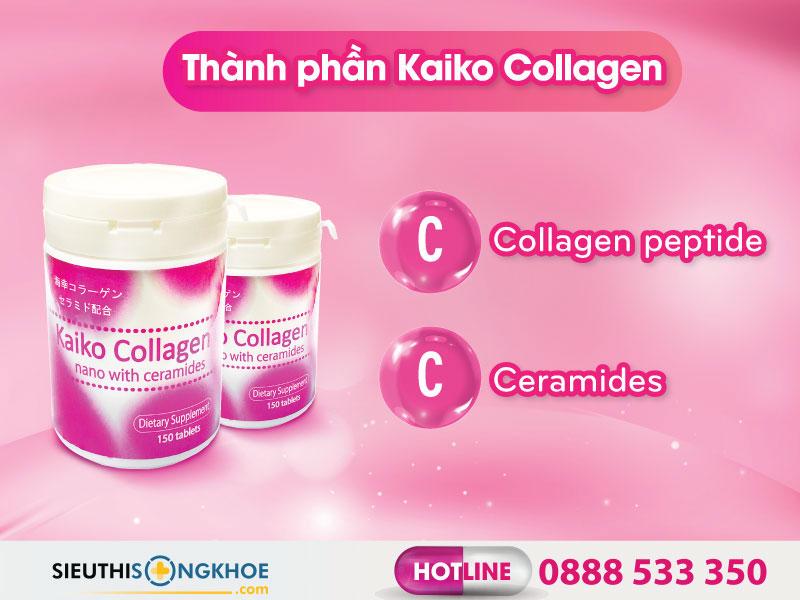 thanh phan vien uong kaiko collagen