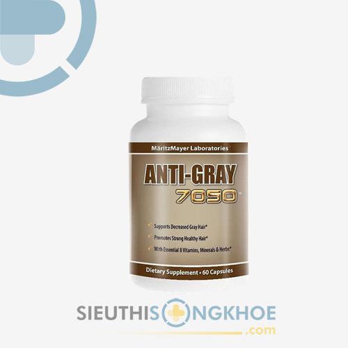 Anti Gray Hair 7050 - Hỗ Trợ Điều Trị Tóc Bạc Sớm An Toàn, Hiệu Quả