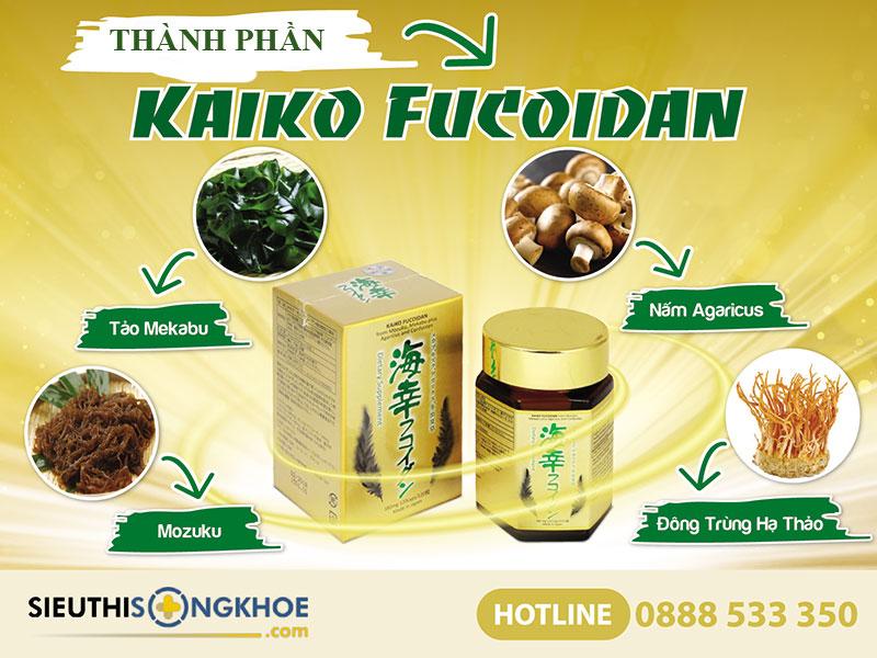 Kaiko Fucoidan