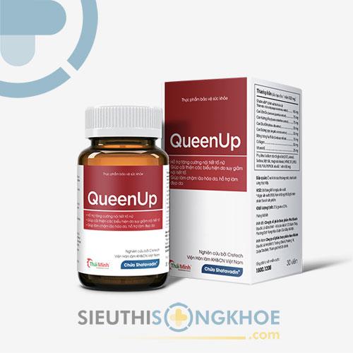 QueenUp - Cân Bằng Nội Tiết Tố Nữ - Giữ Mãi Nét Thanh Xuân