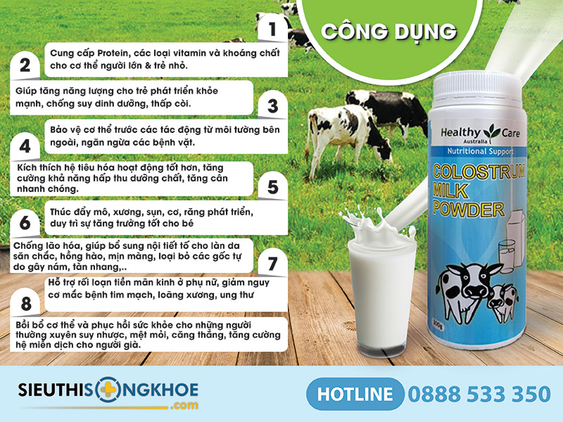 Healthy Care Colostrum Milk Powder