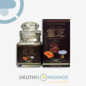 Super Reishi Powder – Hỗ Trợ Lọc Máu, Thải Độc Gan & Ngăn Ngừa Ung Thư