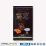 Super Reishi Powder - Hỗ Trợ Lọc Máu, Thải Độc Gan & Ngăn Ngừa Ung Thư