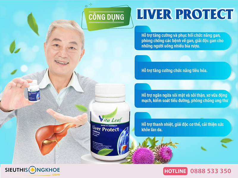công dụng liver protect