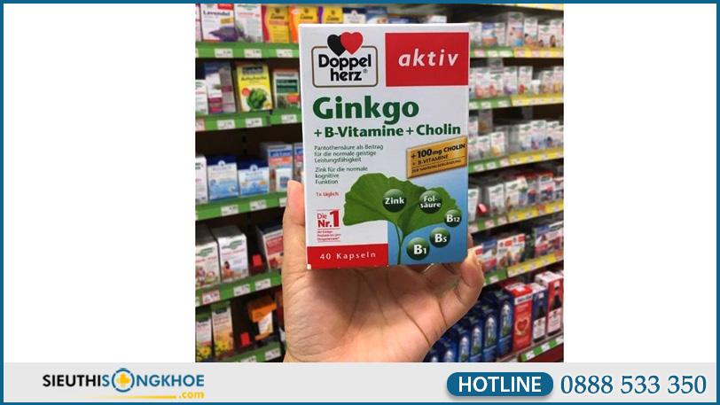 hinh anh vien uong bo nao doppelherz aktiv ginkgo vitamin b cholin 6