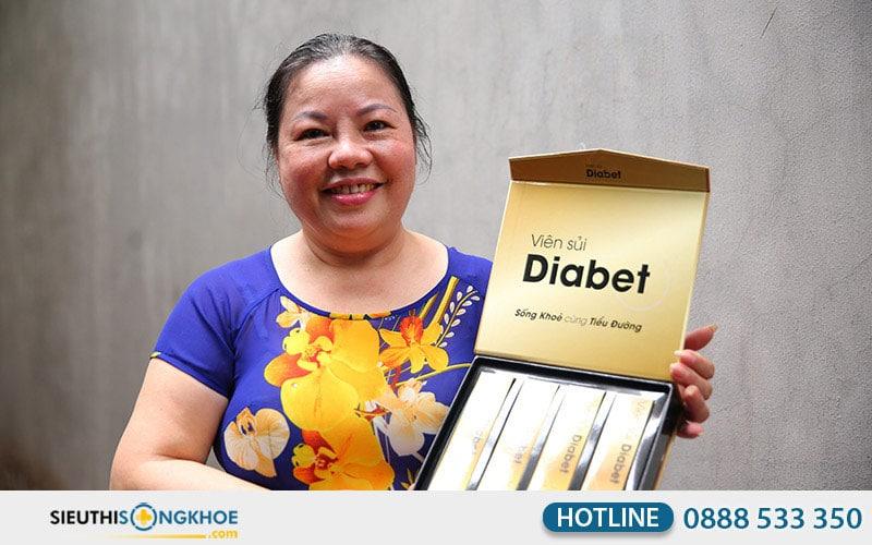 khách hàng review viên sủi diabet