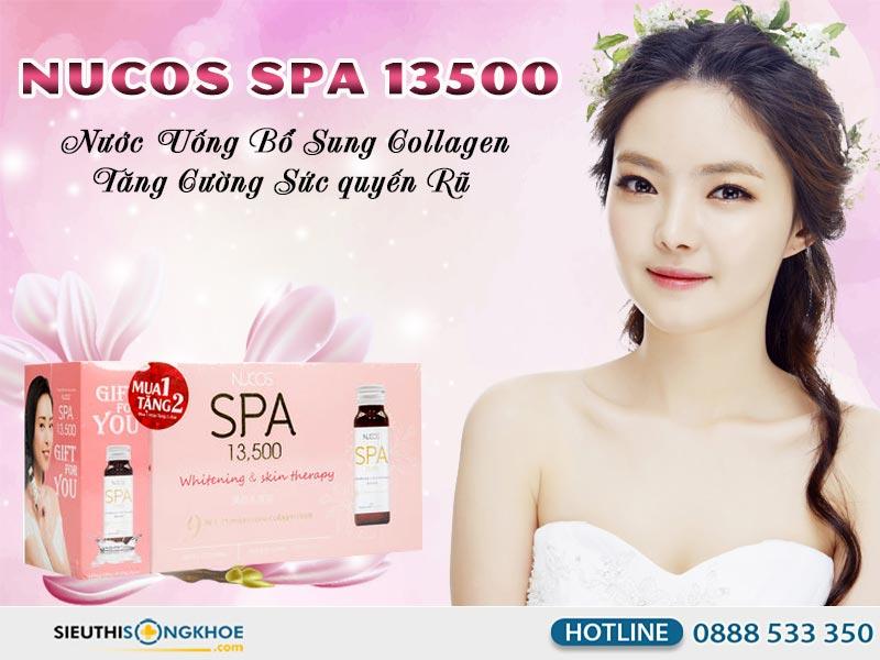 Nước bổ sung collagen Nucos Spa 13500