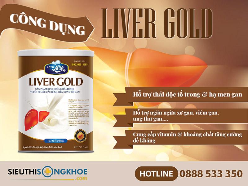 sữa liver gold