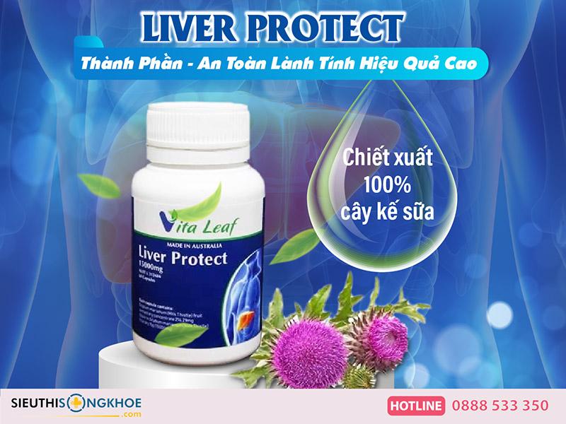 thành phần liver protect