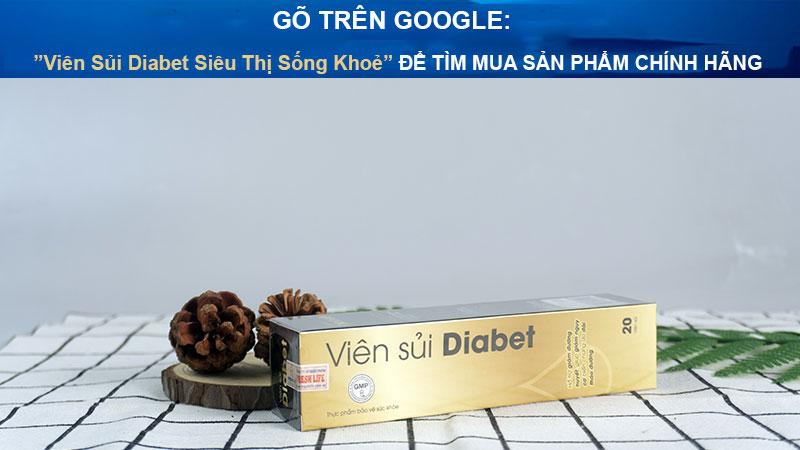 viên sủi diabet siêu thị sống khoẻ