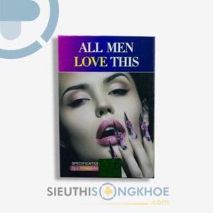All Men Love This – Hỗ Trợ Tăng Cường Chức Năng Sinh Lý Nữ