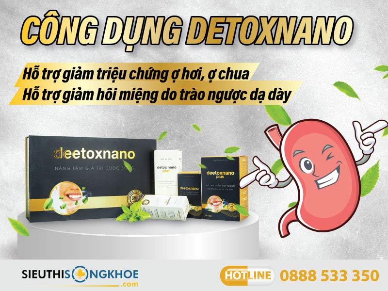 công dụng deetox nano