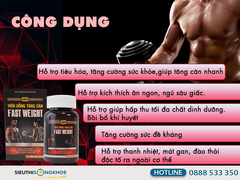 công dụng fast weight