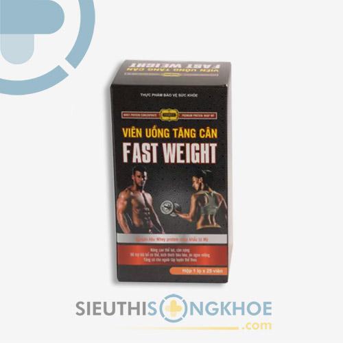 Fast Weight - Viên Uống Hỗ Trợ Tăng Cân