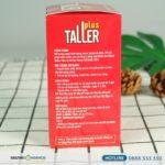 Taller Plus - Viên Uống Hỗ Trợ Tăng Chiều Cao