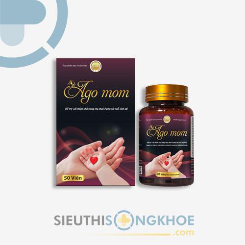 Ago Mom - Viên Uống Hỗ Trợ Thúc Đẩy Khả Năng Thụ Thai Nữ Giới
