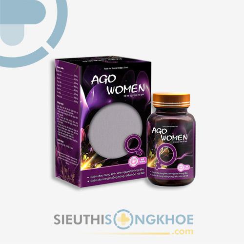 Ago Women - Viên Uống Hỗ Trợ Tăng Cường Sinh Lý & Làm Đẹp Cho Phái Nữ