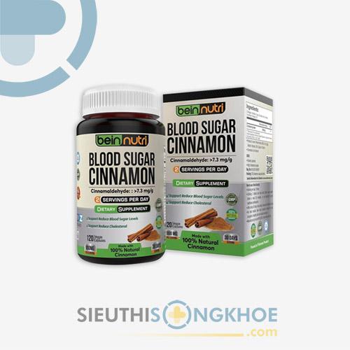 Blood Sugar Cinnamon - Viên Uống Hỗ Trợ Ngăn Ngừa Biến Chứng Tiểu Đường