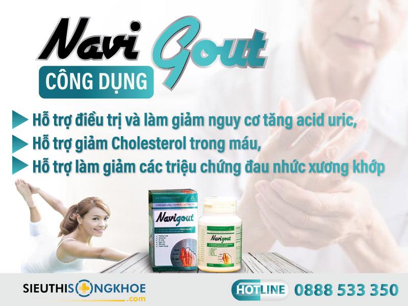 công dụng navi gout