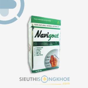 Navi Gout – Viên Uống Hỗ Trợ Giảm Tình Trạng Sưng Viêm Khớp & Gout