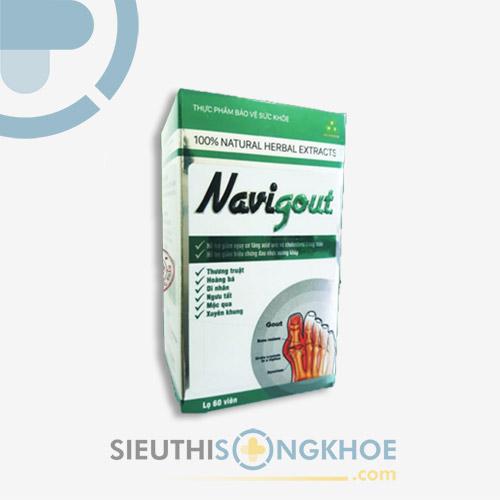 Navi Gout - Viên Uống Hỗ Trợ Giảm Tình Trạng Sưng Viêm Khớp & Gout
