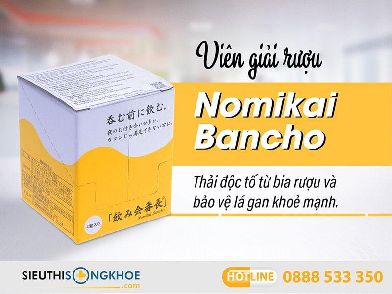 viên giải rượu nomikai bancho