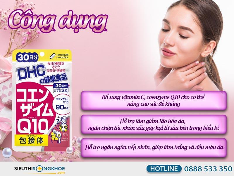 công dụng của dhc coenzyme q10