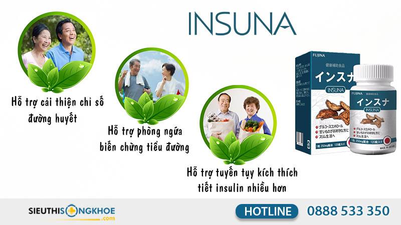 công dụng insuna