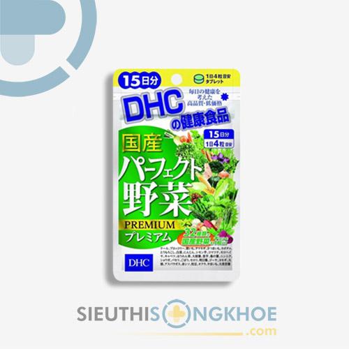 DHC Perfect Vegetable 15 Days - Viên Uống Hỗ Trợ Bổ Sung Vitamin & Khoáng Chất Thiên Nhiên