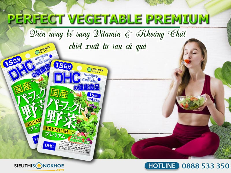 dhc perfect vegetable
