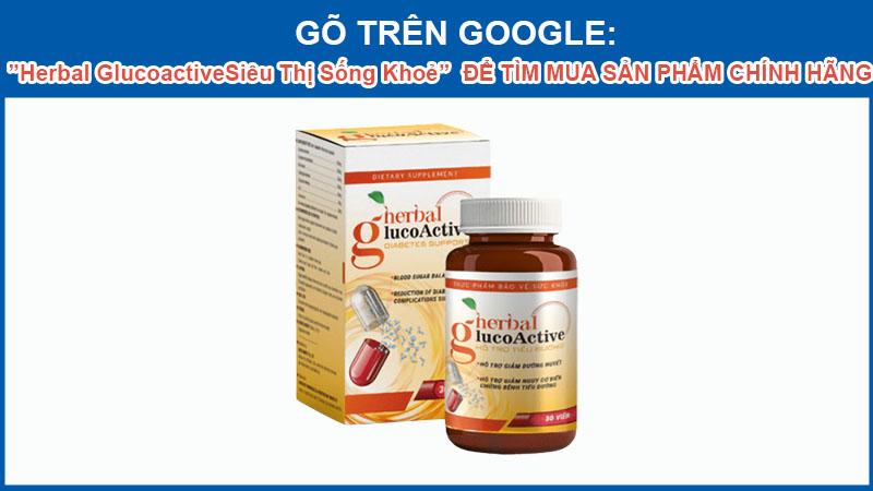 Herbal Glucoactive chính hãng