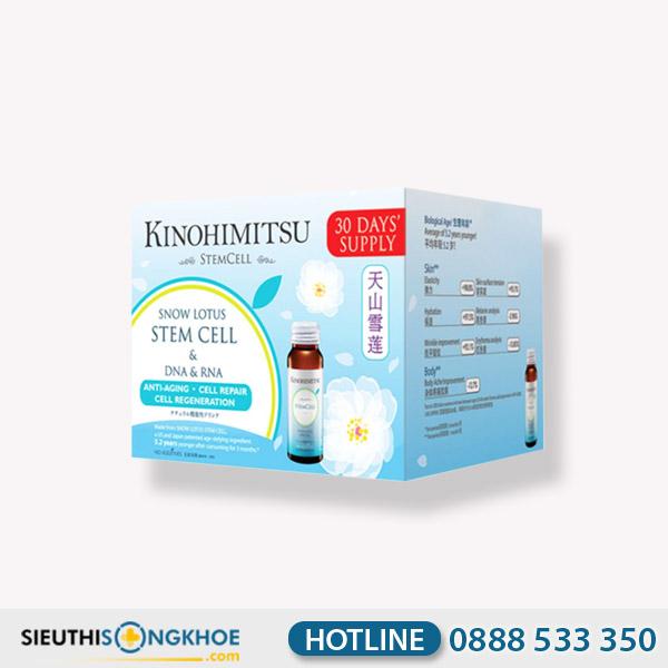Kinohimitsu Stemcell - Nước Uống Hỗ Trợ Ngừa Lão Hóa