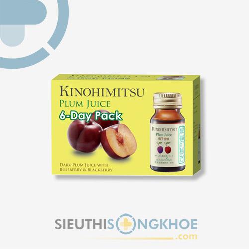Kinohimitsu D'tox Plum Juice - Chai Nước Hỗ Trợ Thanh Lọc Cơ Thể & Nâng Cao Sức Khoẻ