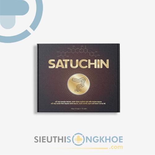 Satuchin - Viên Sủi Hỗ Trợ Điều Trị Bệnh Trĩ & Nhuận Tràng