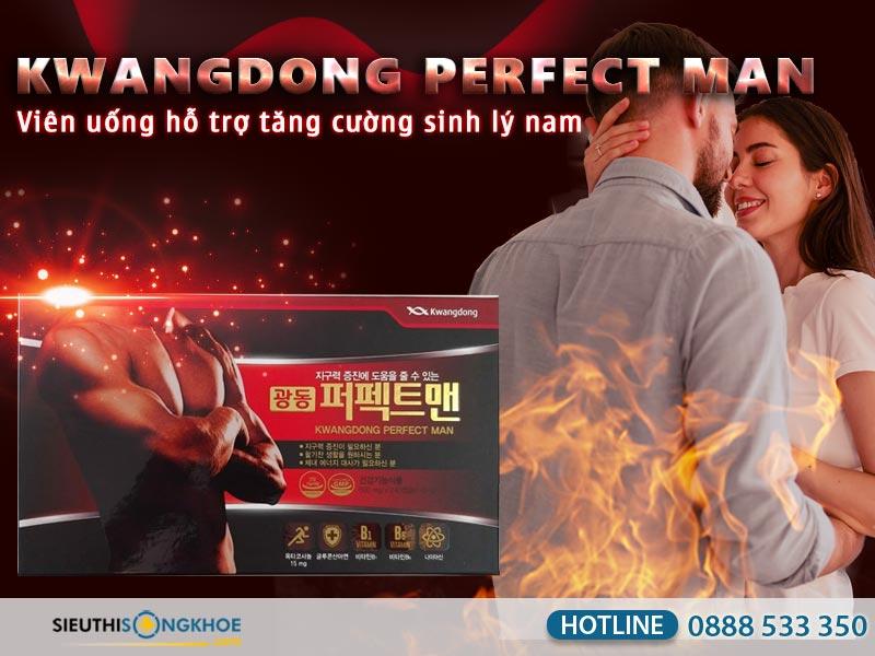 viên uống kwangdong perfect man
