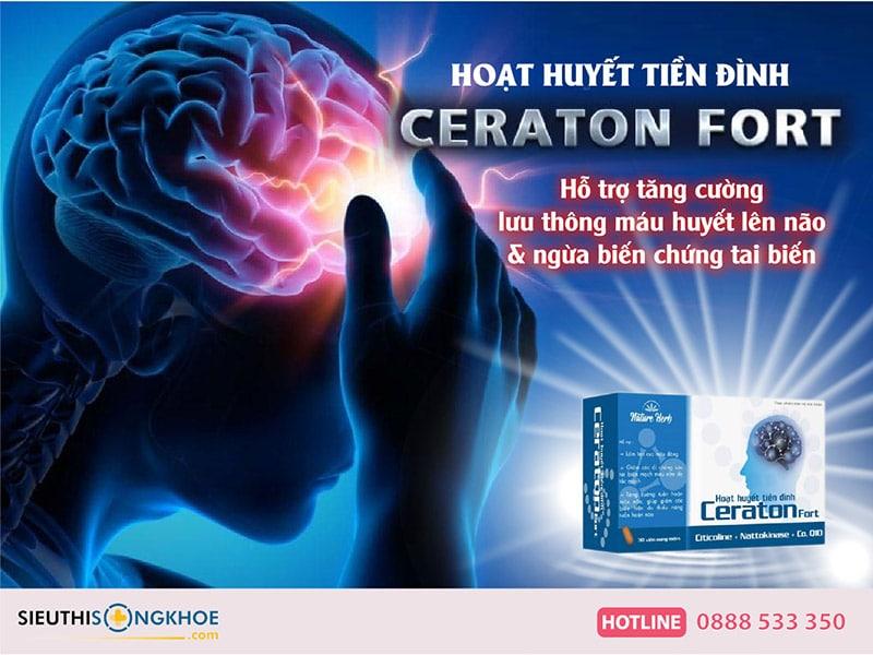 hoạt huyết tiền đình ceraton fort