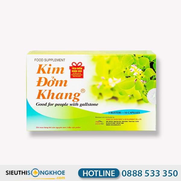 Kim Đởm Khang - Viên Uống Hỗ Trợ Ngăn Ngừa Sạn Sỏi & Sỏi Mật
