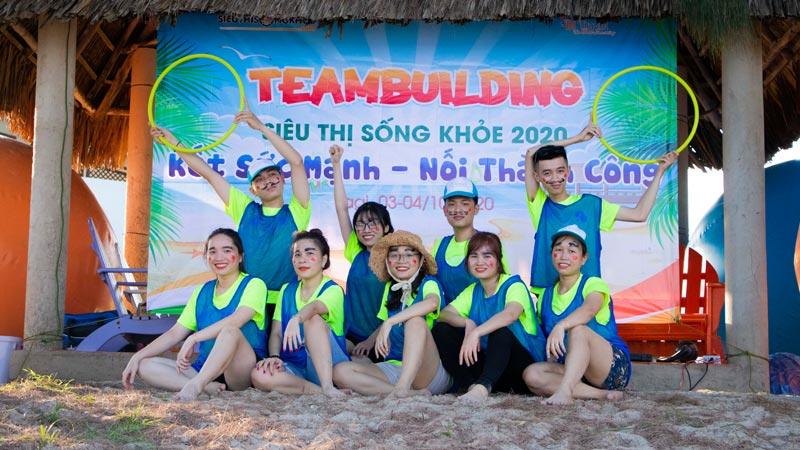 team building sieu thi song khoe 1
