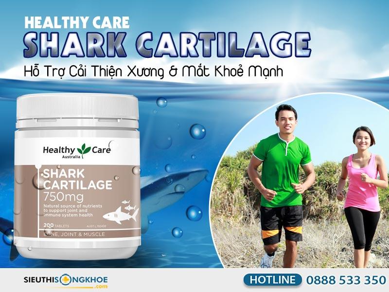 healthy care shark cartilage 750mg