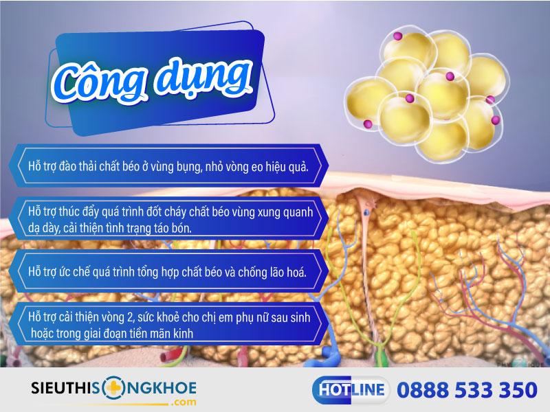 công dụng của onaka pillbox