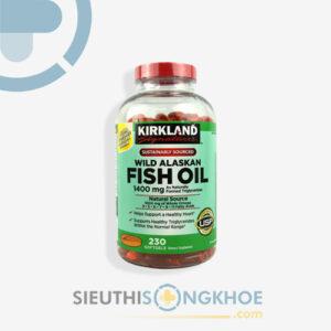 kirkland wild alaskan fish oil 1400mg