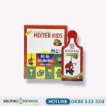Mixter Kids - Sản Phẩm Hỗ Trợ Tăng Cường Hệ Miễn Dịch Cho Trẻ Em