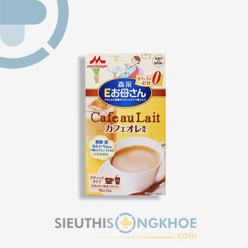 Morinaga Cafe Au Lait - Sữa Bà Bầu Hỗ Trợ Nâng Cao Sức Khoẻ Cho Mẹ Và Bé