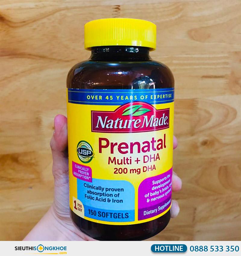 nature made prenatal multi dha