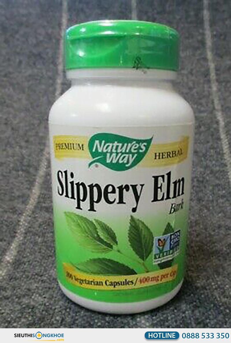 nature's way slippery elm bark