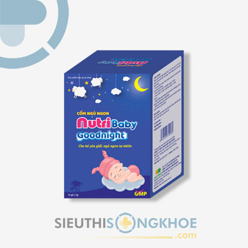 Nutribaby Goodnight - Sản Phẩm Hỗ Trợ Cải Thiện Hệ Thần Kinh & Chăm Sóc Giấc Ngủ Của Trẻ Nhỏ