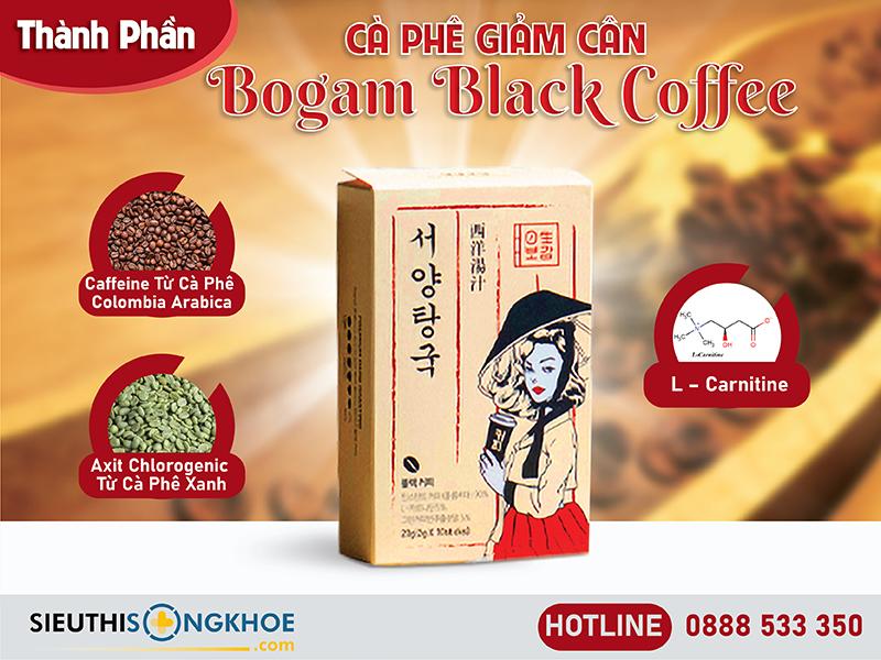 thành phần của bogam black coffee