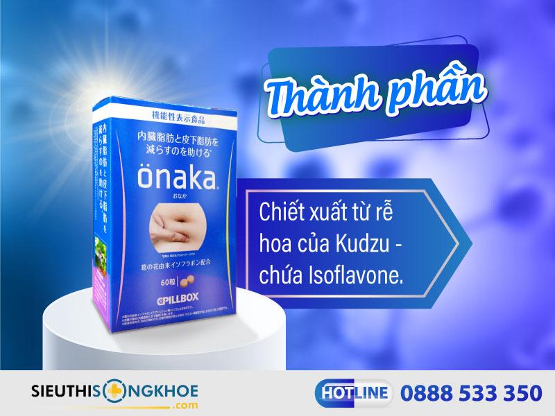 thành phần của onaka pillbox