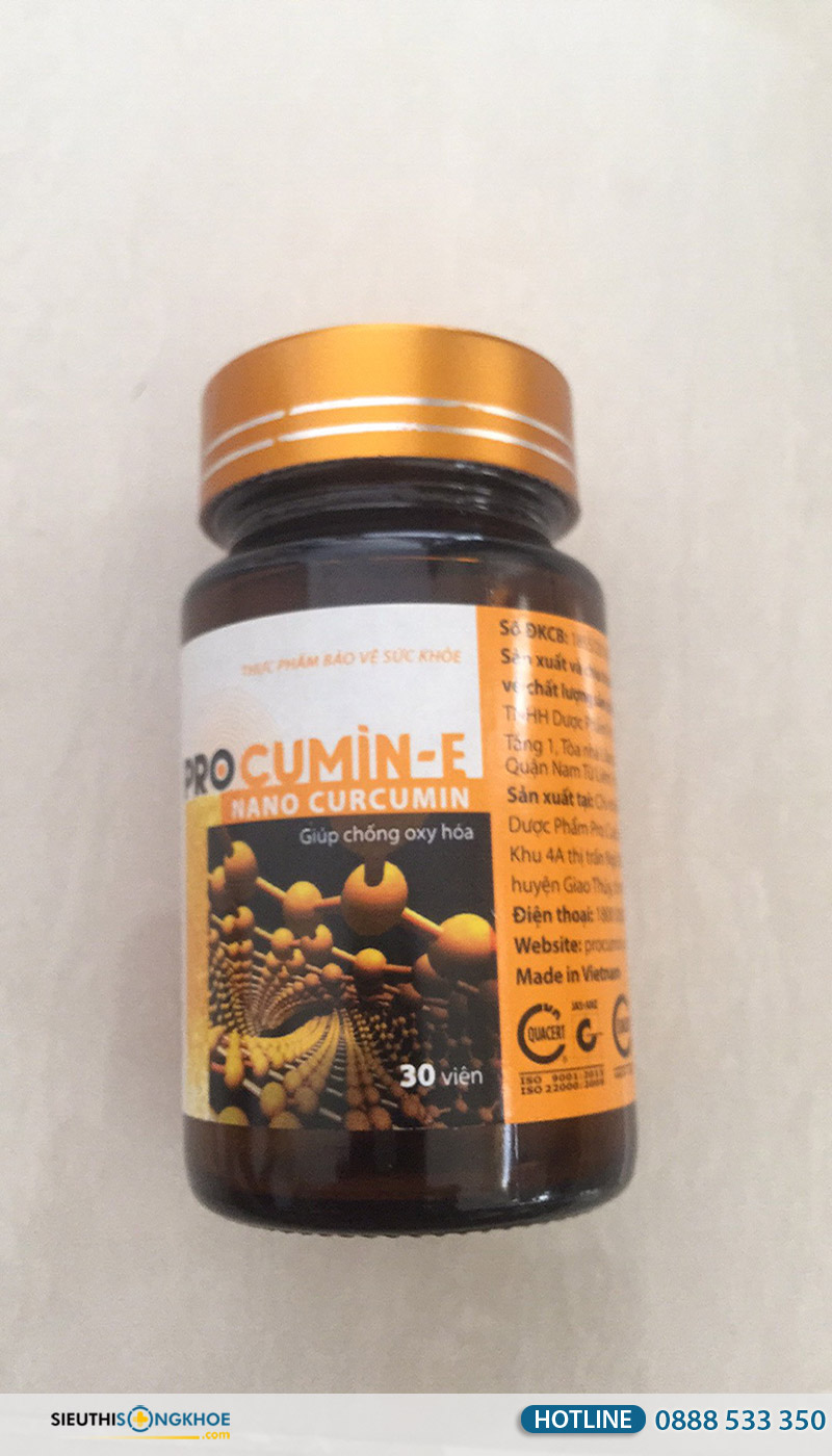 viên uống procumin-e